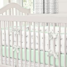 Baby Crib Bumper Pads For Sale. Navy And Gray Elephants Crib Bumper Carousel Designs. Home and Family Baby Girl Nursery Pink And Grey, White Baby Cribs, Baby Girl Elephant, Pink Elephant Nursery, Mint Nursery, Baby Boy, Grey Elephant, Animal Nursery, Baby Girls