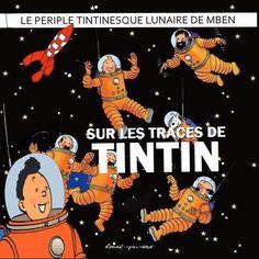 Les Aventures de Tintin - Album Imaginaire - Sur les Traces de Tintin