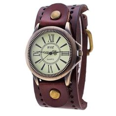 Vintage Leather Watch – The Drifter's Commissary