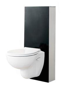 WC-fixtur glassbox 120mm
