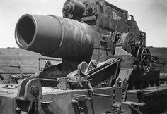 """stukablr: """"60 cm Mörser Gerät 040 """"Thor"""" Battle of Svastopol 1942. """""""