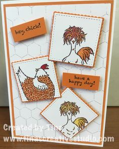 "10 Likes, 1 Comments - Tina's Creative Studio (@tinascreativestudio) on Instagram: ""My first card using the fun Hey, Chick stamp set from Stampin Up, which you can get for free during…"""