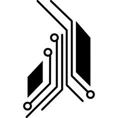 Pictures of electronic circuit logo - Circuit Board Tattoo, Circuit Board Design, Tech Tattoo, Tattoo Care, Electronic Tattoo, Electronic Circuit, Shape Design, Logo Design, Cyberpunk Tattoo