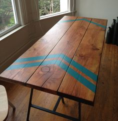 New kitchen table? I need one that we can eat and craft on. Boy proof too.
