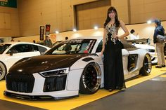NEWING Alpil Audi R8 RSRversion in NAGOYA AUTO TREND