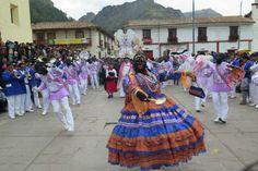 Así se vivió la fiesta de los Negritos navidad en Huancavelica.