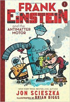 Frank Einstein is a smart kid who likes to invent and he wants to help his grandfather out by winning the Midville Science Prize. Frank's accidental science project ends up with the creation of two robots, Klink, the smart robot, and Klank, the not-so-smart robot. Will these two robots help or hinder Frank's mission to win the top prize? 179p