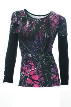 Shop a great selection of Moon Shine Attitude Attire Muddy Girl Camo Sleeve Black Long Sleeve. Find new offer and Similar products for Moon Shine Attitude Attire Muddy Girl Camo Sleeve Black Long Sleeve. Camo Outfits, Girl Outfits, Muddy Girl Camo, Camouflage, Country Girls Outfits, Camo Dress, Pink Camo, Women's Camo, Camo Jeans