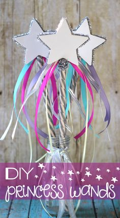 DIY Princess Wands - The Girl Creative