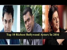 Top 10 Richest Bollywood Actors In 2016 - Top5go  Being in so many movies each Bollywood actor and Bollywood actresses absolutely earn so much each year in their filming career. The thing is that we dont know who earn the most and how much they earn each year.   10. Hrithik Roshan: Net Worth $45 Million 9. Irrfan Khan: Net Worth $50 Million 8. John Abraham: Net Worth $55 Million 7. Ranbir Kapoor: Net Worth $66 Million 6. Dharmendra: Net Worth $70 Million 5. Akshay Kumar: Net Worth $180…