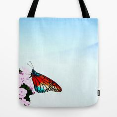 Butterfly Tote Bag by Sunli - $22.00