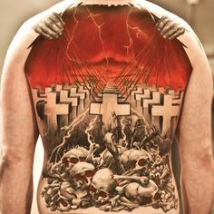 Back piece done by Xam The Spaniard