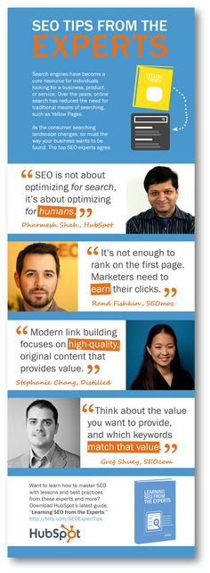 Top SEO Tips Straight From the Industry Experts