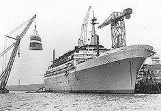 Holland America Line: SS Statendam IV - built in 1957