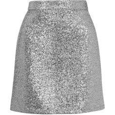Metallic Silver Tinsel Mini Skirt by Jaded London ($50) ❤ liked on Polyvore featuring skirts, mini skirts, bottoms, saias, faldas, silver, sparkle skirts, silver metallic skirt, metallic mini skirt and topshop skirts