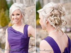 Great updo - Styled Photo Shoot with Paris Mountain Photography