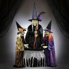 Juego de 3 hermanas brujas malvadas con ojos LED | Costco Mexico