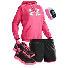 """""""under Armour"""" by c-michelle on Polyvore"""