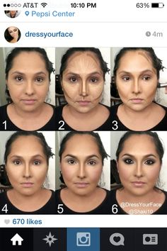Highlight and contour - what a difference it can make!!! Before and After … WOWOWOWOWOWOWOWOWOWOW!!!