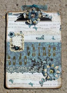 Shabby Chic Clipboard