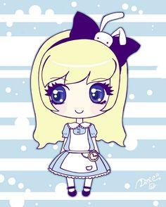 Chibi Alice by DeadPeppermint.deviantart.com on @deviantART