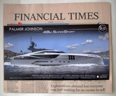 Financial Times Friday May 24, 2013, Front Cover, Onsert for Monaco Grand Prix