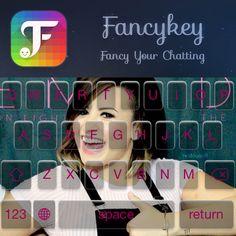 My new keyboard, made with @FancyKey #FancyKey ✊ http://dl2.fancykeyapp.com