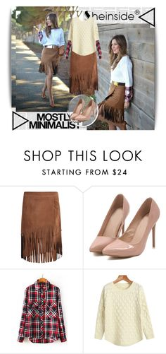 """""""Sheinside 7"""" by dinna-mehic ❤ liked on Polyvore featuring Serfontaine and Sheinside"""
