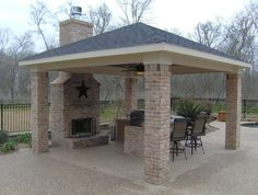 Patio ideas...for out around our future pool.