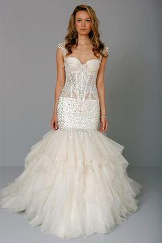 Pnina Tornai Wedding Dresses Photos on WeddingWire