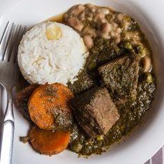Peruvian Cilantro Beef Stew