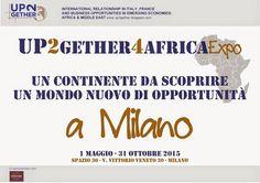 UP2gether 4Africa Expo: UP2gether 4Africa Expo a Milano