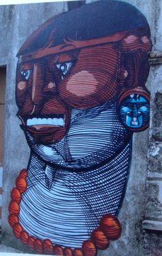 Street art Nunca