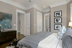 benjamin moore greige avenue What is the paint color and brand please? Absolutely elegant! - Houzz