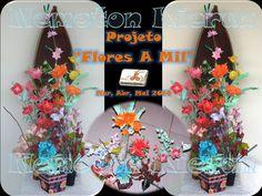Origami, Flower Arrangements, Wreaths, Halloween, Decor, Flowers, Floral Arrangements, Decoration, Door Wreaths