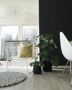 A stunning set up by Interiorwife showcasing our Mayan Sphere Yellow Lounge cushion all the way from Norway, thanks to our agent Savannen Interiør.#cushion #pillow #interior #design #home #pillow #norway #winter #bright#contrast #style #decor
