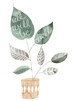 All Will Be Well print | Julianna Swaney