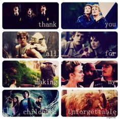 Thank you all for making my childhood unforgettable<3
