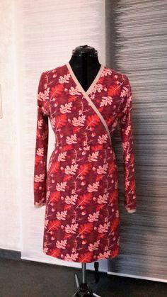 Oakley Owl Kombi Lillestoff Oakley, Wrap Dress, Owl, High Neck Dress, Dresses With Sleeves, Long Sleeve, Fashion, Turtleneck Dress, Moda