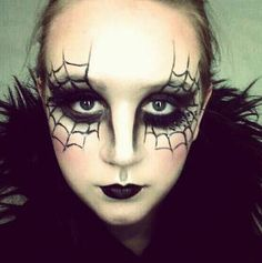 Make Up Occhi Ragnatele Halloween 2014
