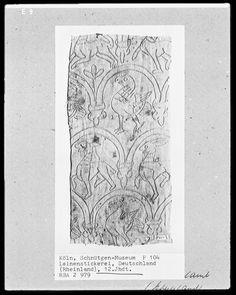 Koln, Schnutgen-Museum P104, Leinenstickerei, Deutschland (Rheinland), 12.Jhdt. RBA 2 979 - German whitework embroidery?