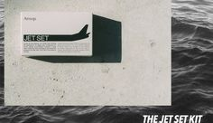 Got a long layover? Well, freshen up and try Aesop's Jet Set Kit!