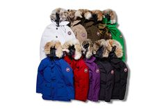 "SOPHNET. x Canada Goose 2015 Fall/Winter Custom ""SOPHNET. EDITION"" Brookfield Parka Collection"