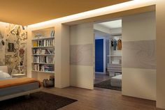MAZZALI: walk-in wardrobe cabina armadio