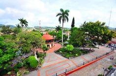 #espaciohonduras Parque en Santa Rosa de Copan