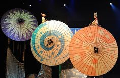 Yumemi Trunk Puppet Theatre of Japan performs a show called 'Urashima' as part of the World Puppet Carnival at National Museum on September 4 2013 in...