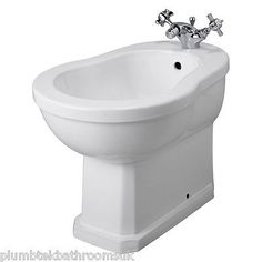 Old london traditional richmond #bathroom ceramic #white bidet #ncs830,  View more on the LINK: http://www.zeppy.io/product/gb/2/371567471934/