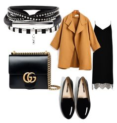 """2. Ахроматы плюс 1 цвет"" by zakaz-rostov on Polyvore featuring мода, River Island и Gucci"