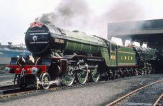 Green Arrow 2-6-2 steam locomotive, 1936