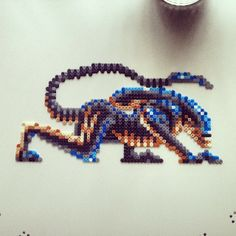Alien Hama Beads by Lauro Espinosa Val